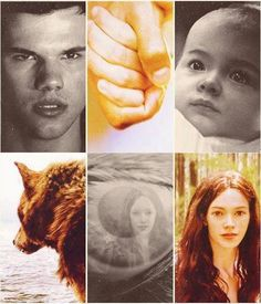 Jacob Black and Renesmee Cullen 壁纸 probably containing a portrait entitled Jake/Nessie Fanart