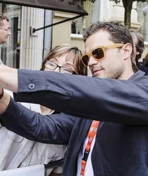 Jamie Dornan arriving in Karlovy Vary for KVIFF on July,