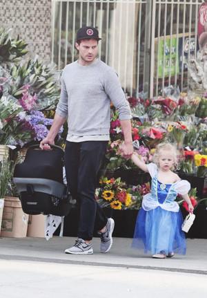 Jamie and daughter,Dulcie