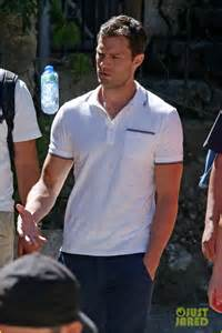 Jamie filming Fifty Shades Freed