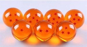 Japon animé Dragon Ball Z Crystal Ball 1 2 3 4 5 6 7 étoile, star Dragon