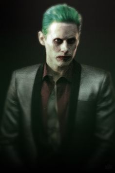Jared as The Joker