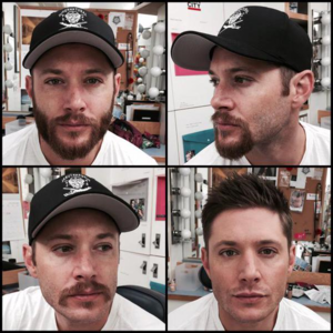 Jensen Ackles hiatus beard