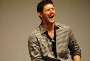 Jensen Ackles laugh