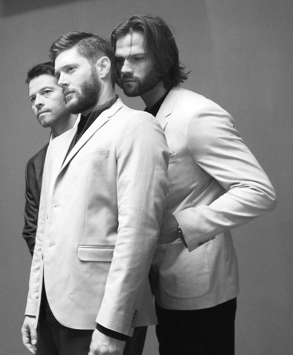 Jensen Misha and Jared shoot