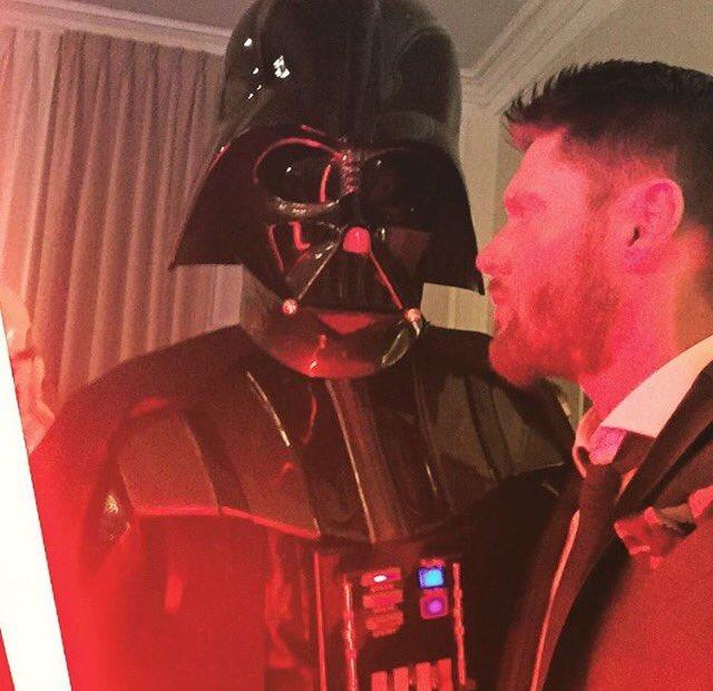 Jensen ft. Darth Vader