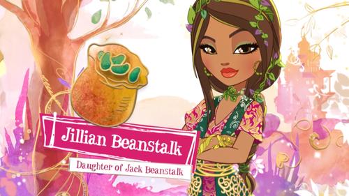 Ever After High wallpaper entitled Jillian Beanstalk