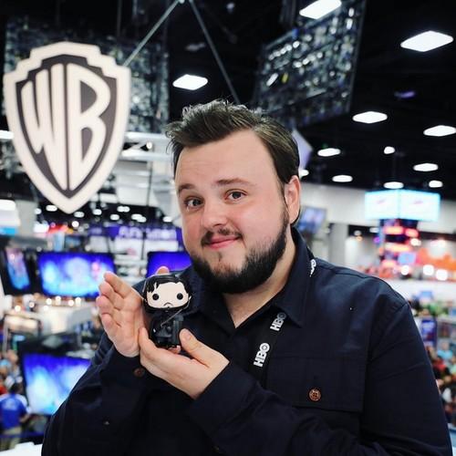 权力游戏 壁纸 titled John Bradley @ Comic-Con 2016