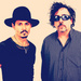 Johnny Depp and Tim Burton - johnny-depp icon