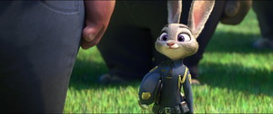 Judy in her graduation uniform