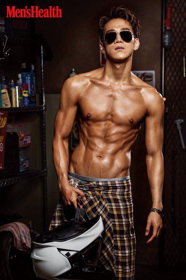 Jun.K  for 'Men's Health'