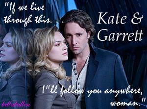 Kate/Garrett karatasi la kupamba ukuta