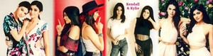 Kendall and Kylie Jenner - profaili Banner