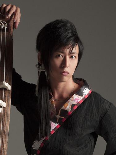 Wagakki Band achtergrond entitled Kiyoshi Ibukuro