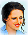 Kristen Stewart  - bella-swan fan art