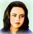 Kristen Stewart  - bella-swan fan art