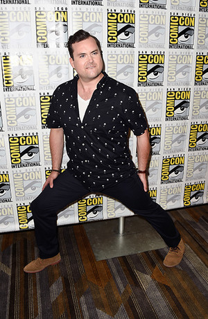 Kristian Bruun at the Orphan Black Press Line
