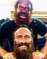 Kristofer Hivju and Dean S. Jagger - game-of-thrones photo