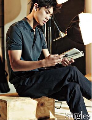 LEE JOON mostrar ATTITUDE FOR AUGUST 2016 SINGLES