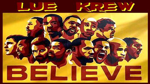 Cleveland Cavaliers fondo de pantalla with anime titled LUE KREW
