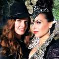 Lana and Rebecca - once-upon-a-time photo