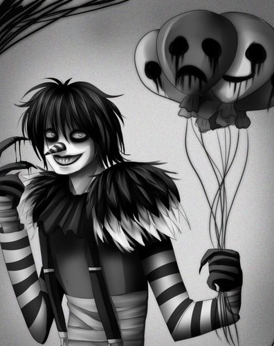 Creepypasta Wallpaper Possibly Containing A Living Room Called Laughing Jack