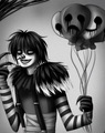 Laughing Jack  - creepypasta fan art
