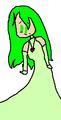 Leanne's Pastel Green Dress