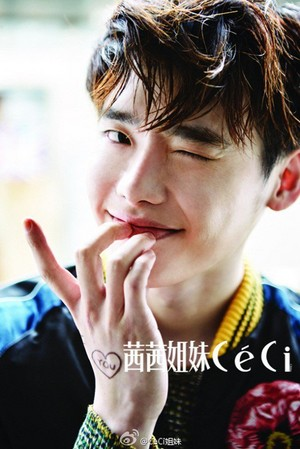 Lee Jong Suk for 'CeCi's June issue