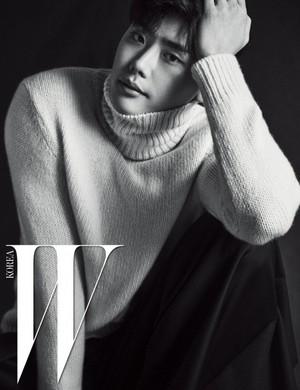 Lee Jong Suk for 'W Korea'