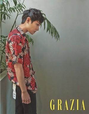 Lee Joon for 'Grazia'