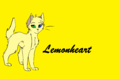Lemonheart - make-your-own-warrior-cat fan art