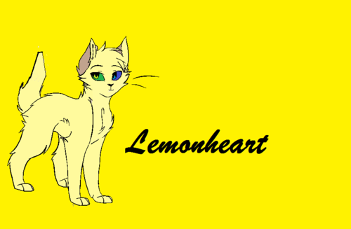 Make Your Own Warrior Cat! hình nền containing anime entitled Lemonheart
