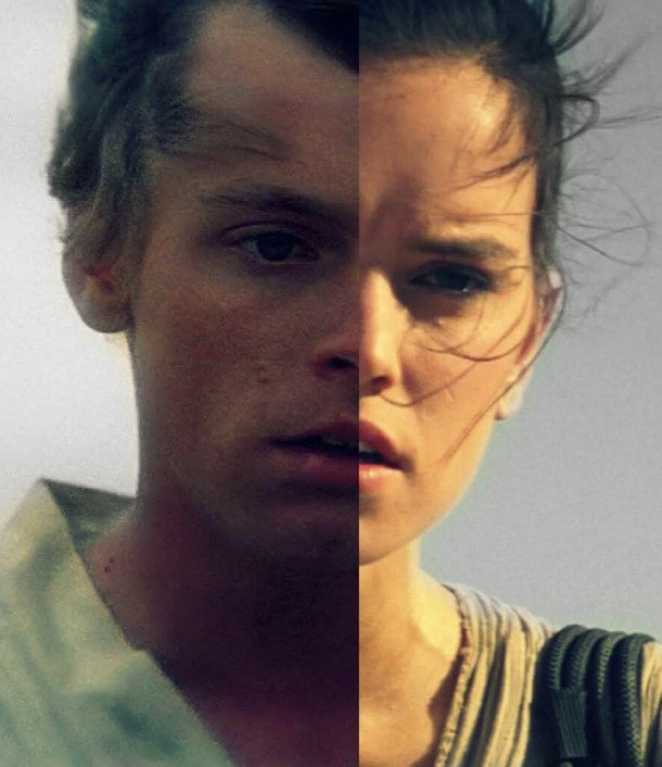 Luke Rey Star Wars Images Luke And Rey Skywalker Wallpaper And