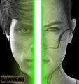 Luke and Rey  - star-wars photo