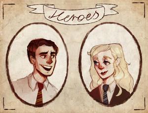 Luna/Neville Fanart - Heroes