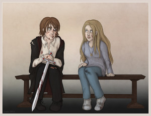 Luna/Neville Fanart
