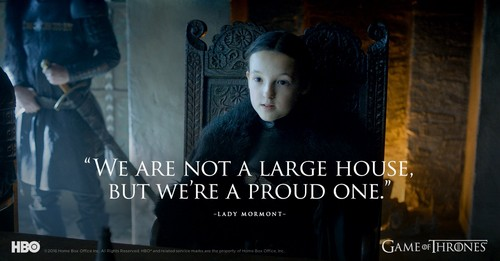 Game of Thrones wallpaper possibly with a sign titled Lyanna Mormont