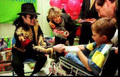 MJJ being a humanitarian.  - michael-jackson photo