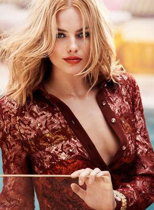 Margot Robbie - Elle Photoshoot - August 2015