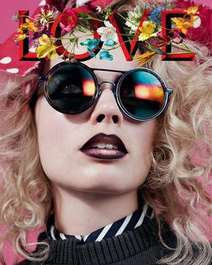 Margot Robbie - tình yêu Magazine Cover - Fall/Winter 2016