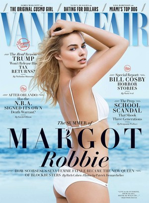 Margot Robbie - Vanity Fair Cover - August 2016
