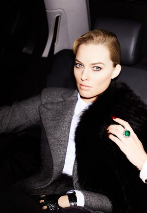 Margot Robbie - violet Grey Photoshoot - February 2014