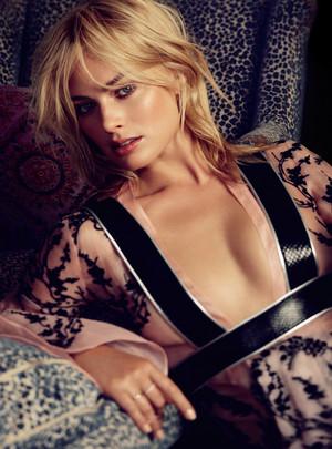Margot Robbie - Vogue Australia Photoshoot - March 2014