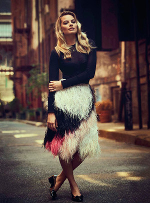 Margot Robbie - Vogue Australia Photoshoot - November 2013