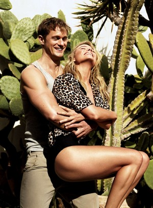 Margot Robbie and Alexander Skarsgård - Vogue Photoshoot - June 2016