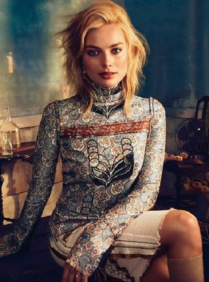 Margot Robbie for Vogue Australia 2015