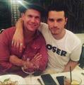 Matthew and Michael - the-vampire-diaries-tv-show photo