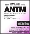 Meet the new ANTM host - event invitation - americas-next-top-model photo