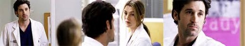 Grey's Anatomy Couples تصویر possibly with a portrait entitled Meredith and Derek 254
